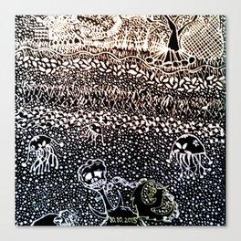 Black Book Series - Compact 01 Canvas Print