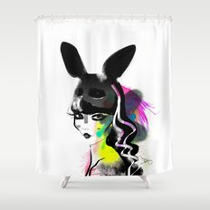 Bunny gone Shower Curtain