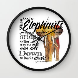 Compromise Wall Clock