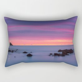 Baily Lighthouse in Purple - Ireland (RR194) Rectangular Pillow