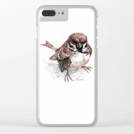 buisinessparrow (No.3) Clear iPhone Case