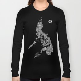 Paranormal Philippines (black) Long Sleeve T-shirt
