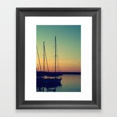 sea Puglia Framed Art Print