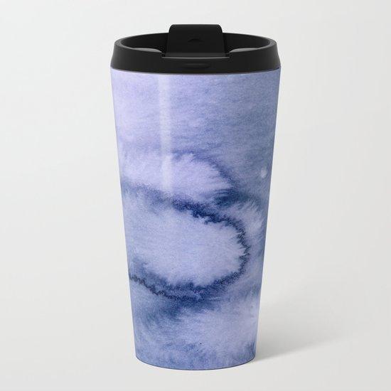 inkblot pastels 1 Metal Travel Mug
