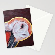Barn Owl 2 Stationery Cards