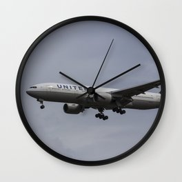 United airlines Boeing 777 Wall Clock