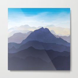 Take Me To The Mountains Metal Print