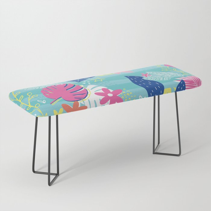 Tropical Vibes Bench