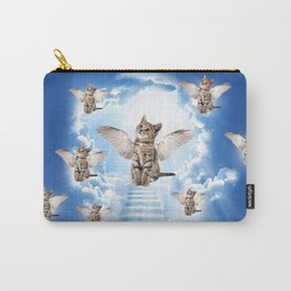 All Cats Go to Heaven Carry-All Pouch
