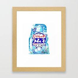 RAMUNE SuperMarket Framed Art Print