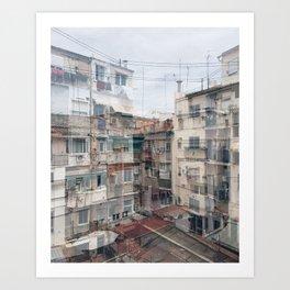 El Patio*01 Art Print