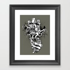 Or the Bad News First Framed Art Print
