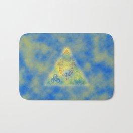 Zelda Triangle Triforce Bath Mat