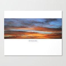 SKY WINDOW Canvas Print