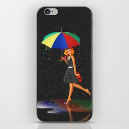 My life is colorful iPhone Skin