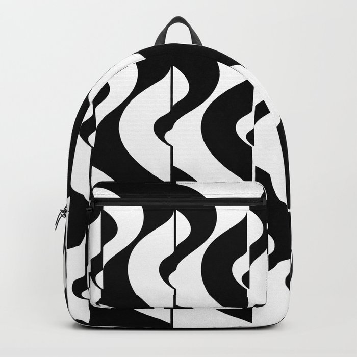 OpArt Waves Backpack