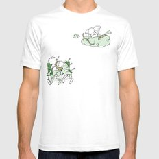 Love Hurts SMALL Mens Fitted Tee White