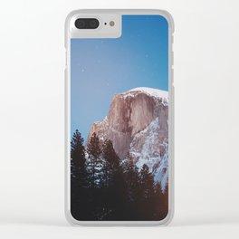 Yosemite Landscape Clear iPhone Case