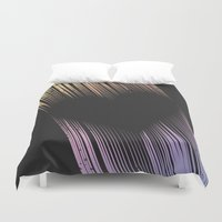 cartoons Duvet Covers featuring The Heart by Metron