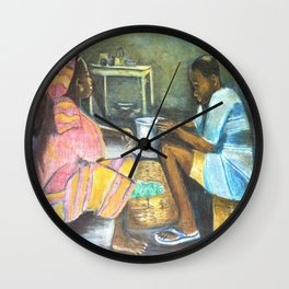 The supper Wall Clock