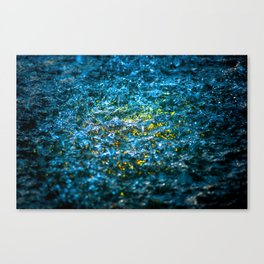 Water Color - Yellow Canvas Print