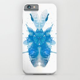 Rorschach inkblot XXXV iPhone Case