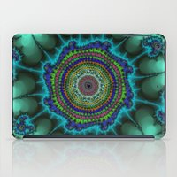 halo iPad Cases featuring Fractal Halo by Harvey Warwick