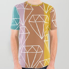 Gem City All Over Graphic Tee