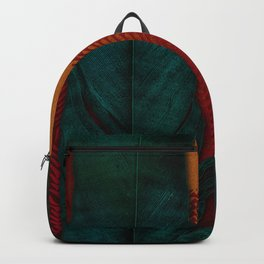 Feathers at campfire Backpack