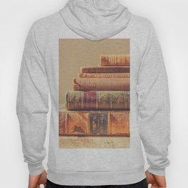 Vintage Book Stack (Color) Hoody