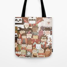 The Nick Yorkers family portrait  Tote Bag