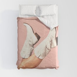 These Boots - Pink Comforters