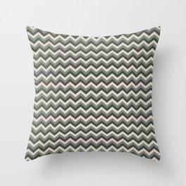 Taupe Chevron Large Throw Pillow