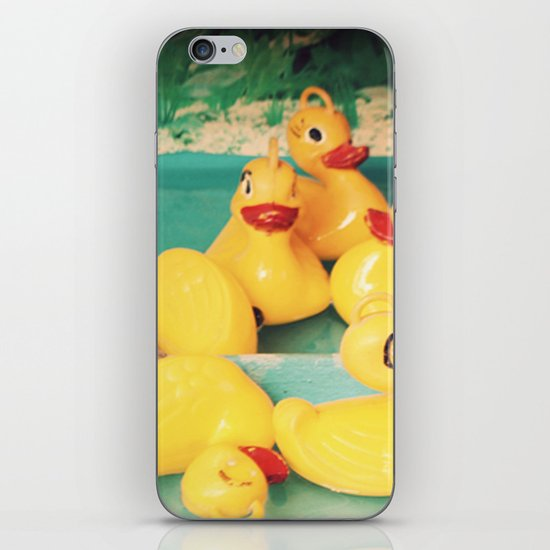 Cuac-cuac iPhone & iPod Skin