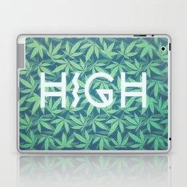 HIGH TYPO! Cannabis / Hemp / 420 / Marijuana  - Pattern Laptop & iPad Skin