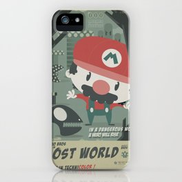 mario bros 4 fan art iPhone Case