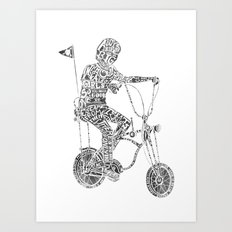 A boy's thing Art Print