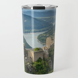 Castle Ruins of Aggstein, Wachau (Austria) Travel Mug