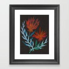 Delphina Framed Art Print