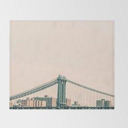 Bridges Of NYC Part 2 Throw Blanket
