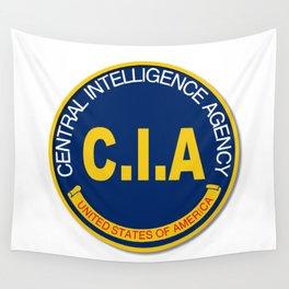CIA Logo Mockup Wall Tapestry