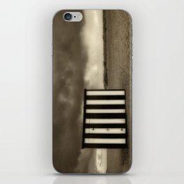 Great Yarmouth Beach Hut iPhone Skin