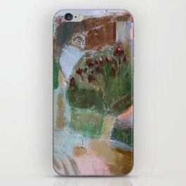 Floral landscape iPhone Skin
