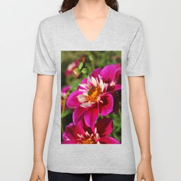 Busy Bee Unisex V-Neck