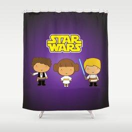 Star Wars Trio Shower Curtain