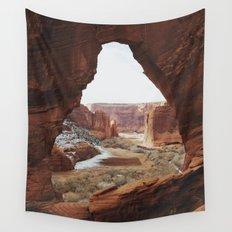 Window Rock Wall Tapestry