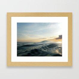 Velvet Sea Framed Art Print