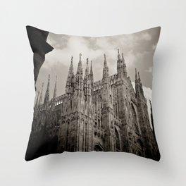 Duomo of Milan Throw Pillow