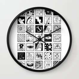 Stuff And Stuff Wall Clock