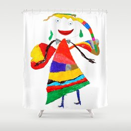 fly with me... Shower Curtain